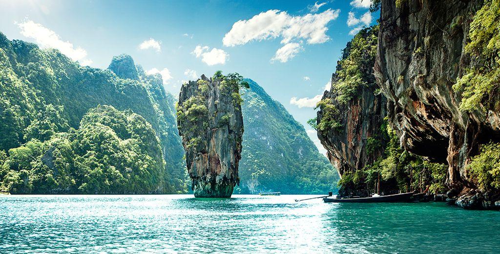 And famous Phang Nga Bay