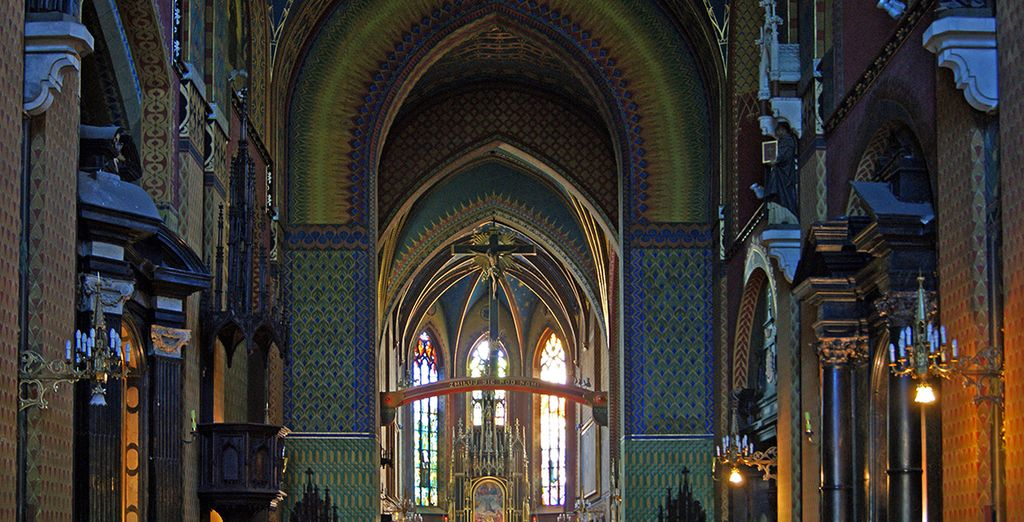 Enter the awe-inspiring church of St Assissi