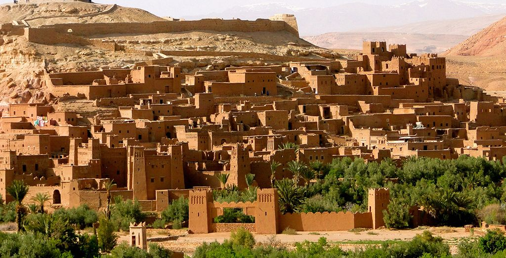 Your guide will take you through remote desert villages...