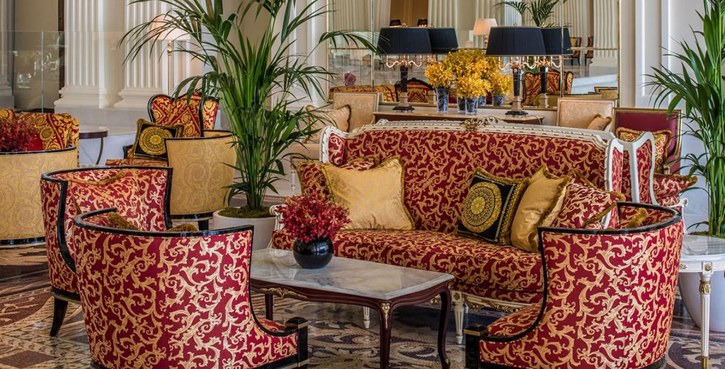 The regal spaces will make you feel like a king