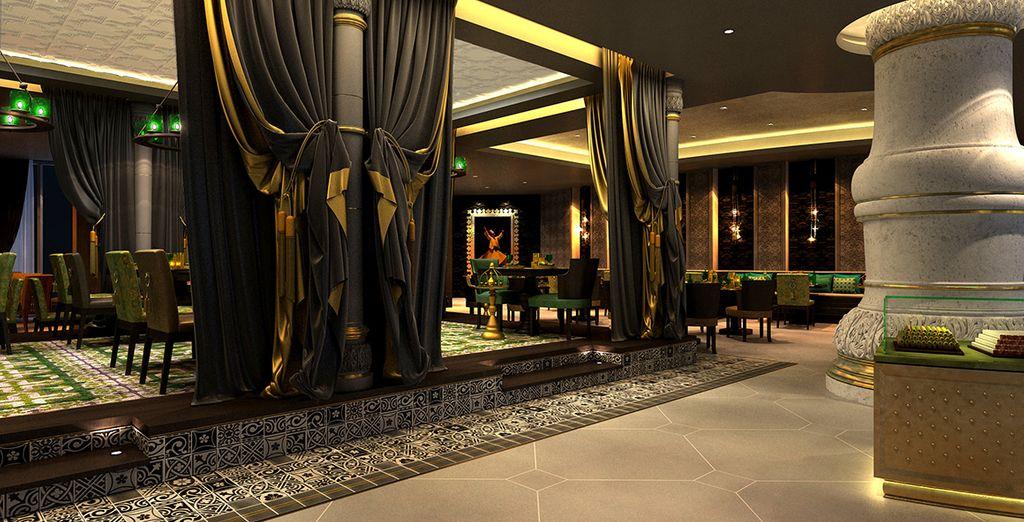 Explore the hotel spaces...