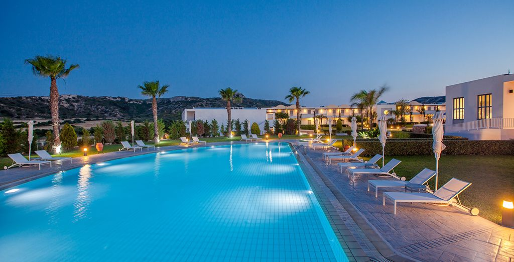 Take some time out at this Grecian retreat