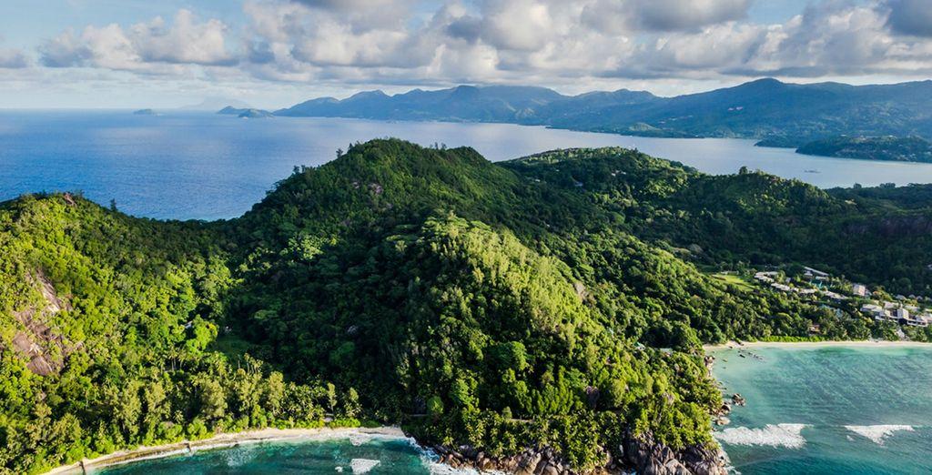 On this breathtaking Seychelles island