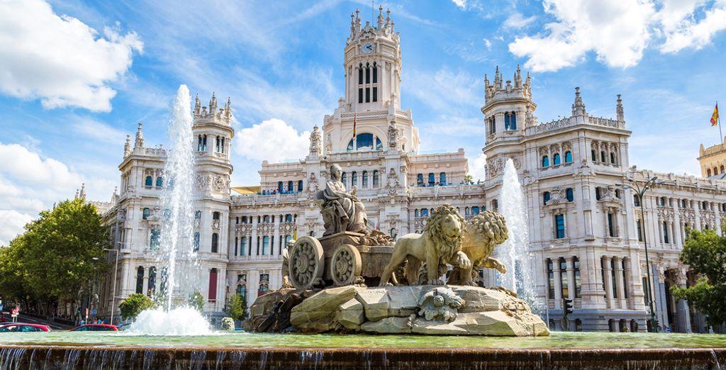 Madrid awaits you ...