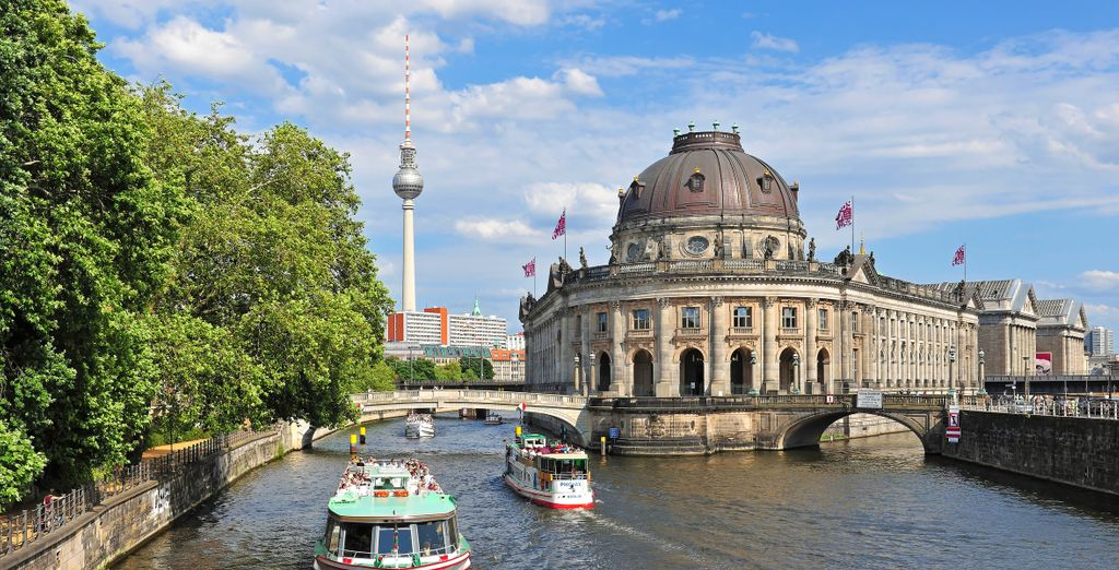 Then set out to explore Berlin!