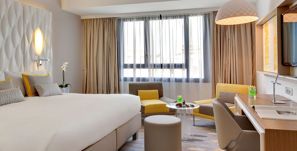 Enjoy your stay in an elegant Superior Room