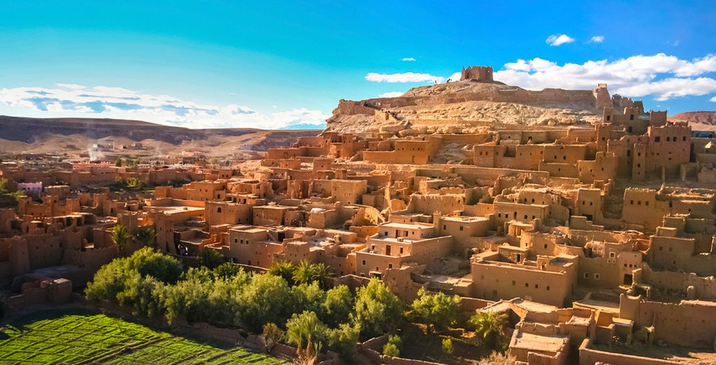 Set off for the remote villages of Morocco