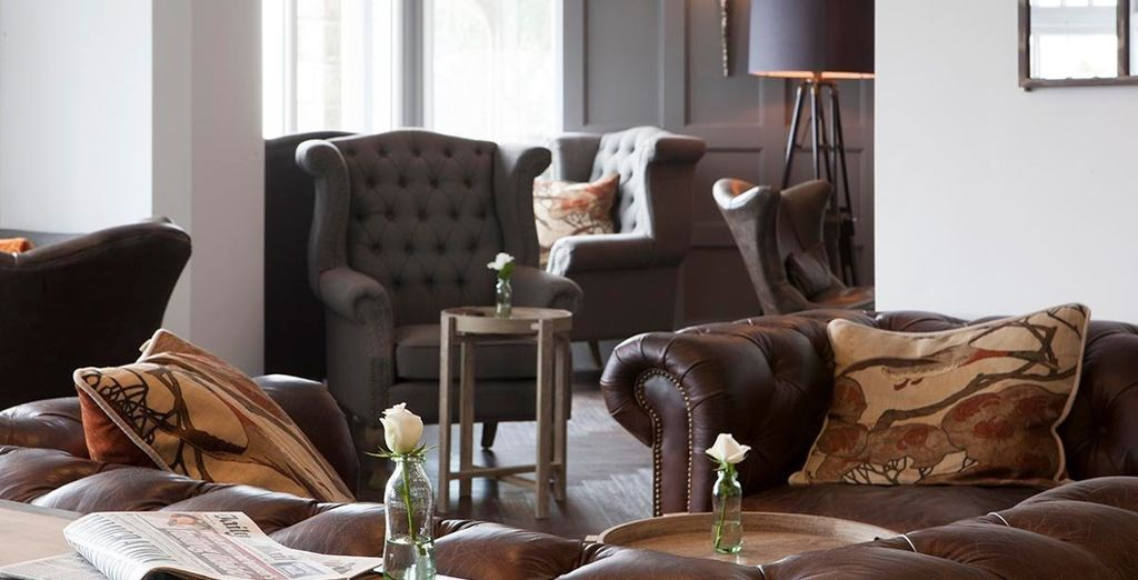 Take some time out in the hotel's welcoming interiors