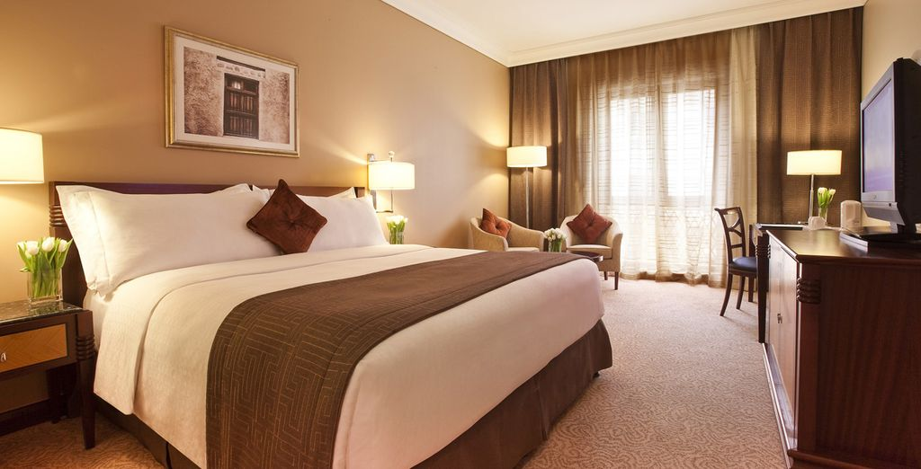 You will be staying in an upgraded Executive Room