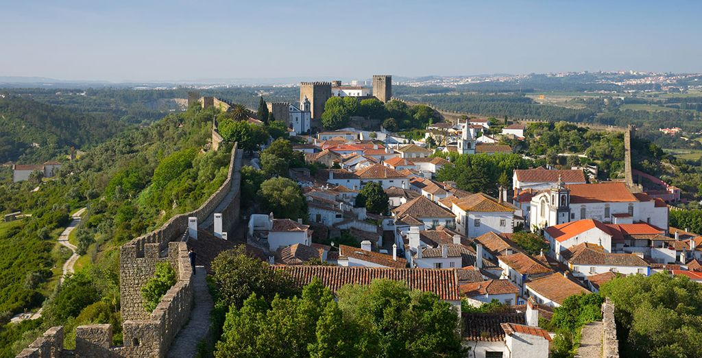 Stay in the lovely Obidos