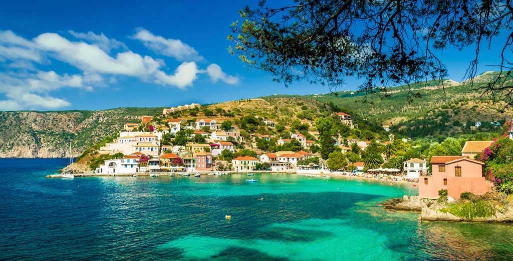 You will be located in the village of Assos