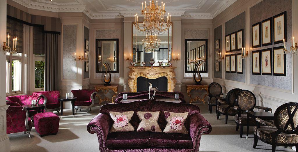 A luxury, 5-star hotel
