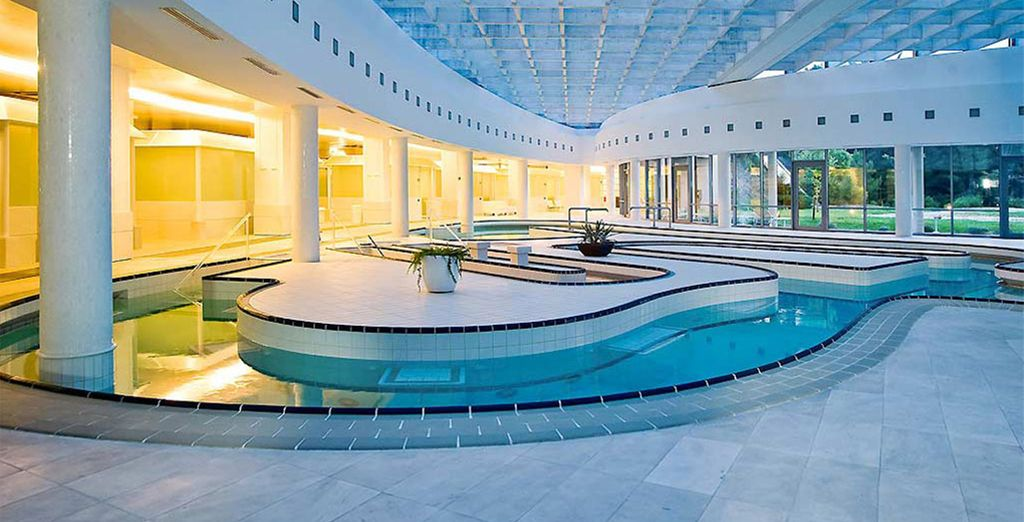 Your hotel features one of the largest thalassotherapy centres in Europe