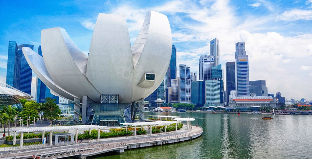 Or in beguiling Singapore