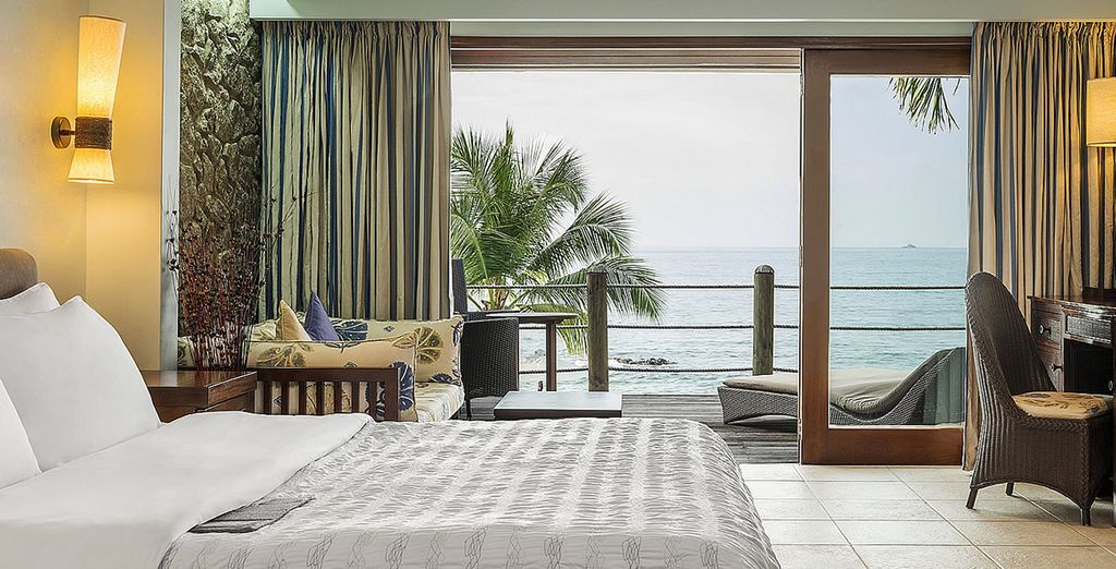 Stay in a fantastic Superior Ocean View Room