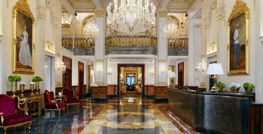 Luxuriate in the grandiose style... - Hotel Imperial - A Luxury Collection Hotel 5* Vienna