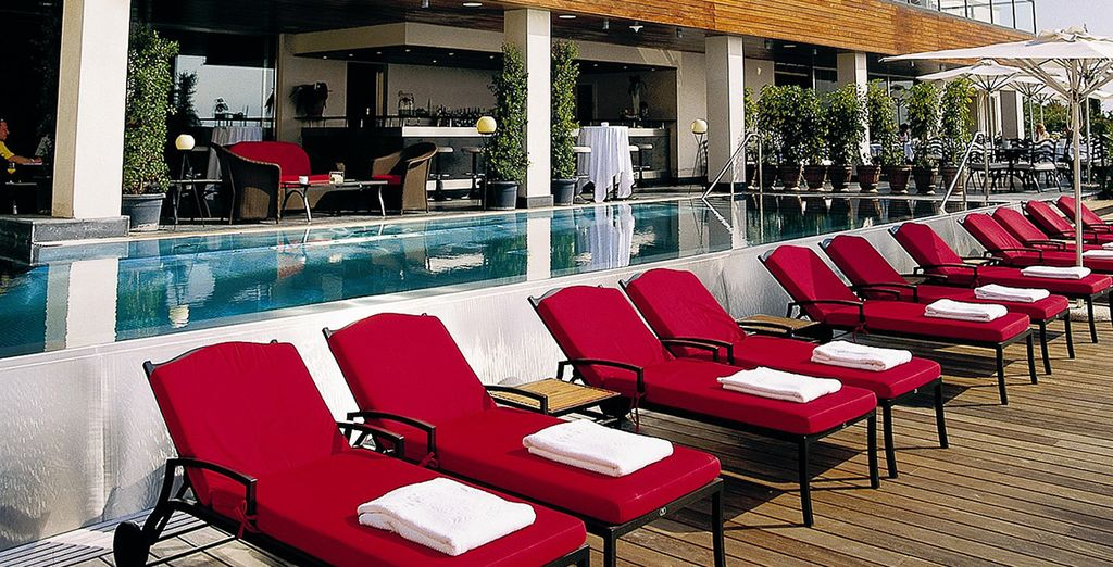 Or in warmer months, just chill out on the terrace