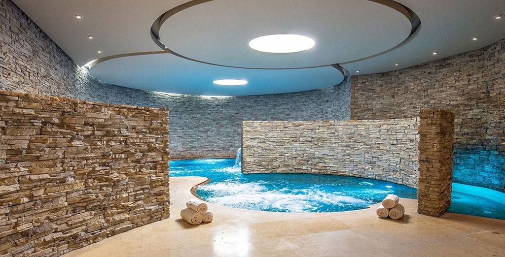 Enjoy a 50% discount on access to the spa