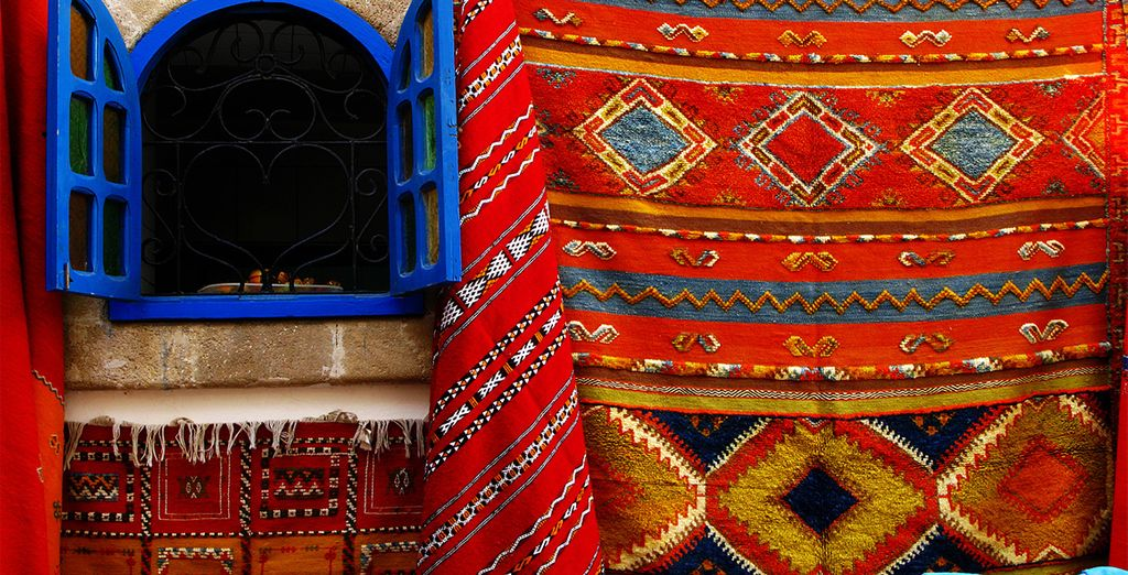 Explore the colourful markets