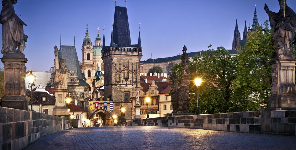 And all its historical sites - K+K Fenix Hotel 4* Prague