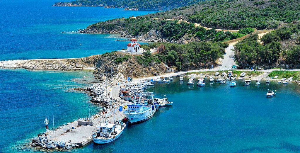 And beautiful coastline