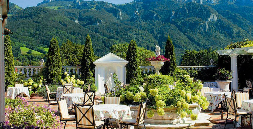 A Michelin starred resort, set in stunning Bavarian countryside