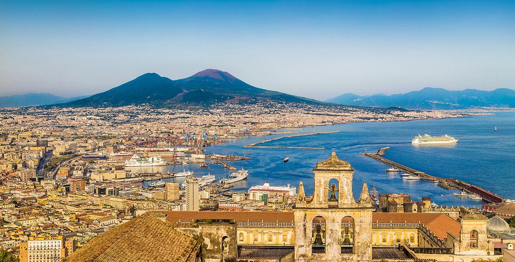 Admire the cultural richness of Naples