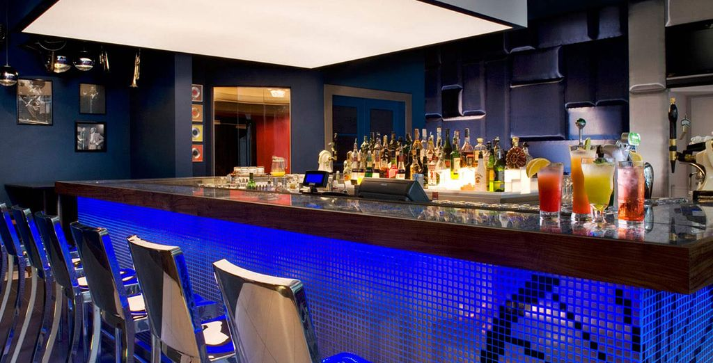Or at the ultra-chic bar