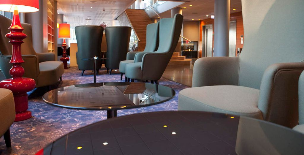 Stay in some chic hotels (Clarion Hotel)