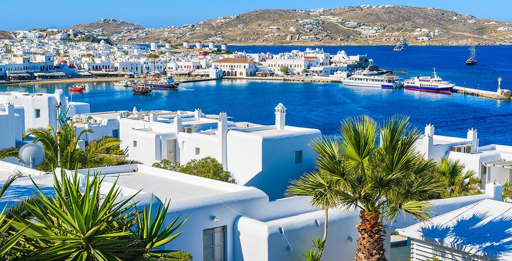 Discover the island of Mykonos