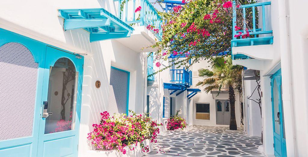 Or head into Mykonos Town