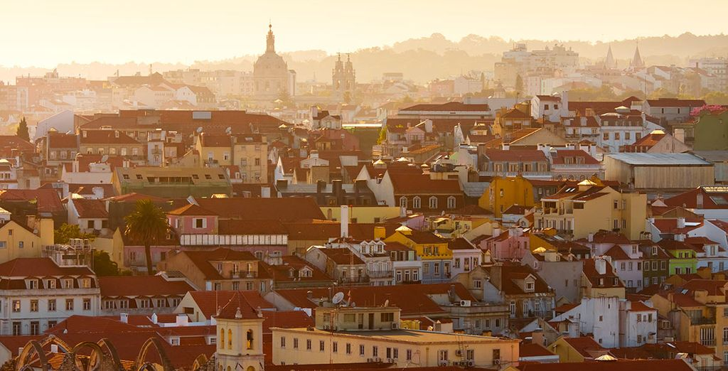 You're also just 20 minutes from cosmopolitan Lisbon