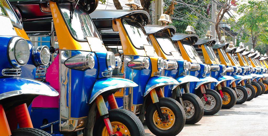 Explore the bustling city of Pattaya