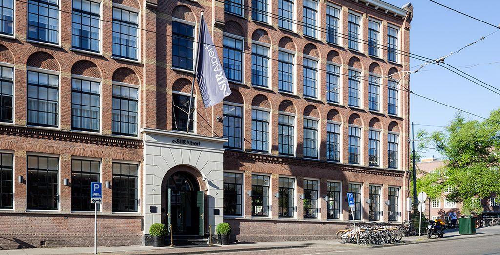 Presenting the fabulous Sir Albert Hotel, near the Van Gogh Museum