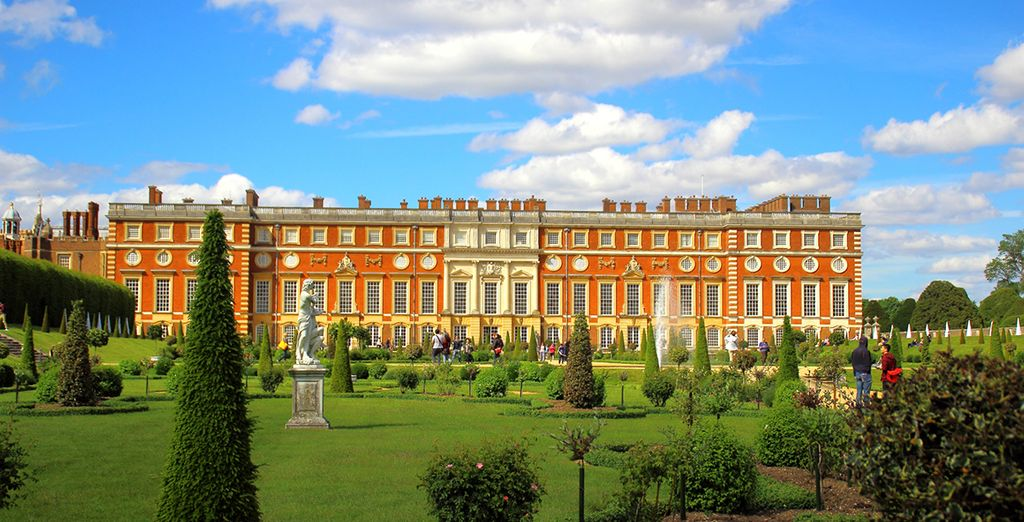 Visit local attractions such as Hampton Court Palace