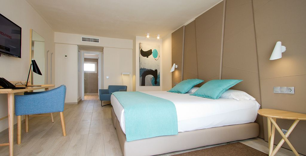 Enjoy your stay in a large two bed suite