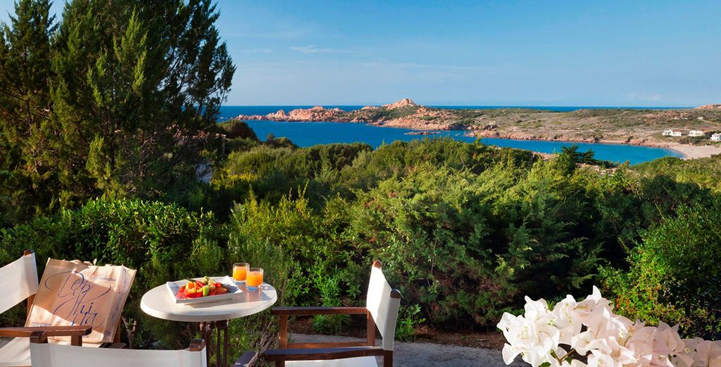 Dine with spectacular views