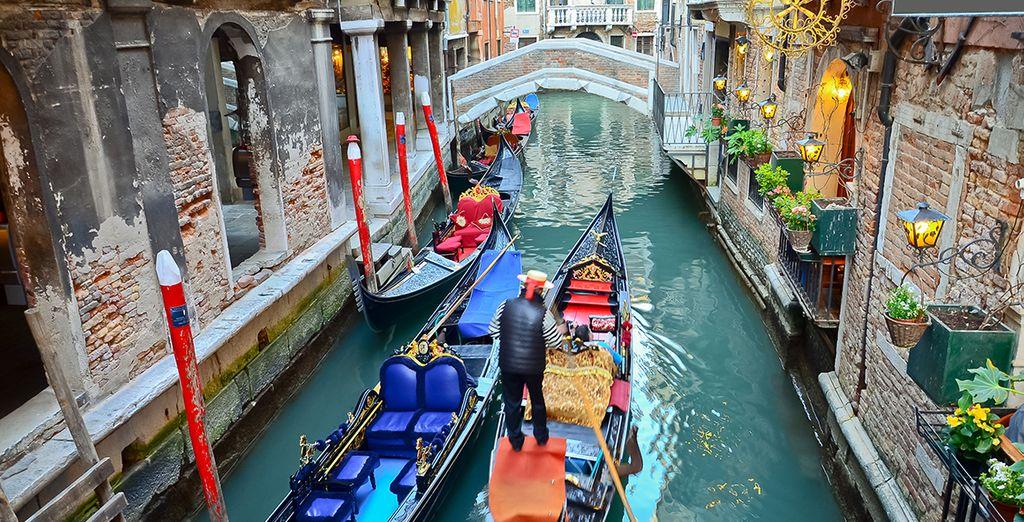 To explore the wonders of Venice!