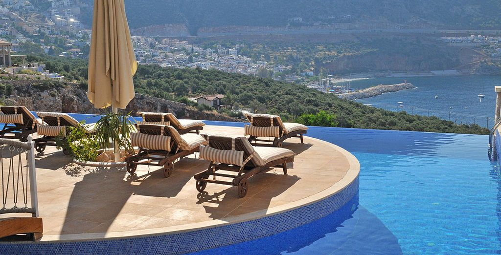 One boasts incredible views of the coastline