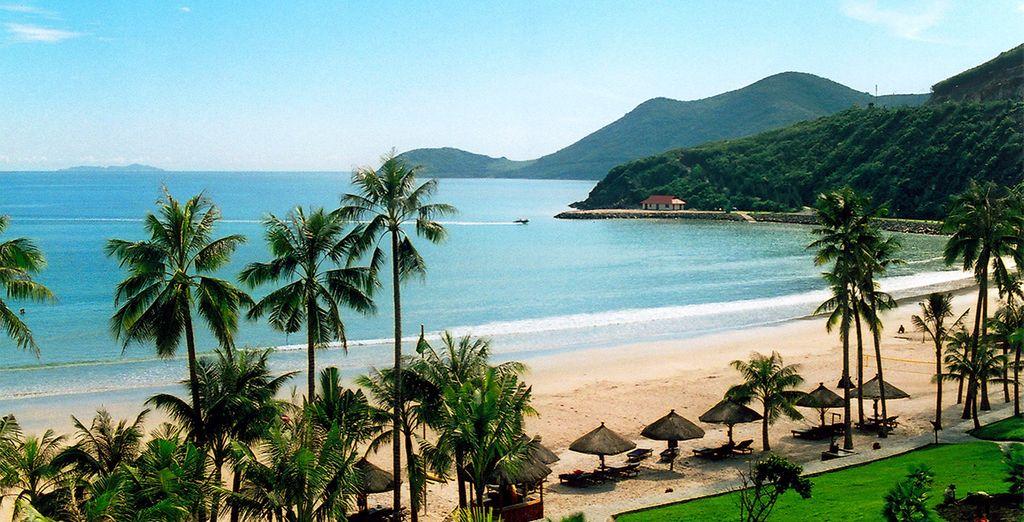 Pristine beaches...