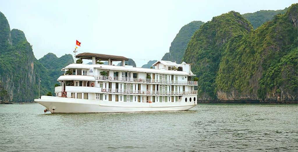 And a one night cruise through Ha Long Bay