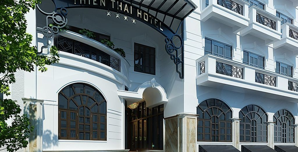 You will stay in comfortable 4* hotels throughout (Thien Thai)