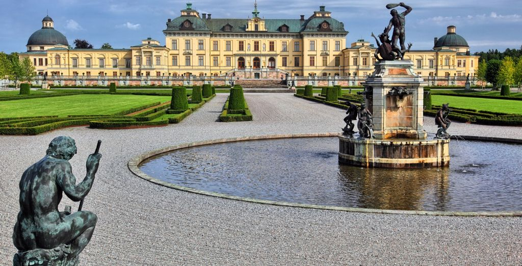 And let's not forget Drottningholm Palace, where the Royal family lives