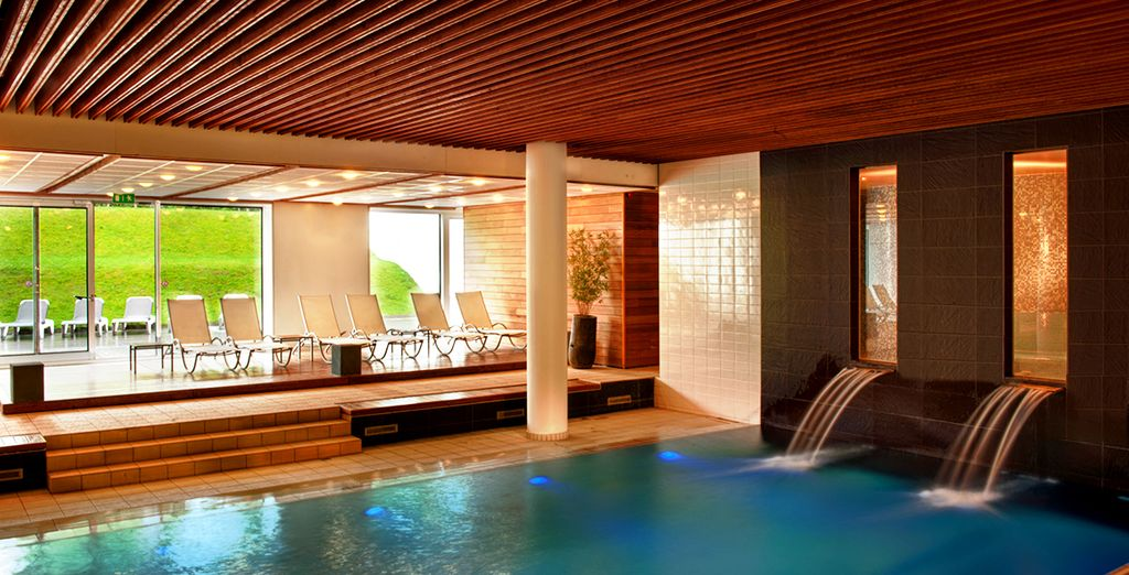 Experience an ultra-modern spa stay