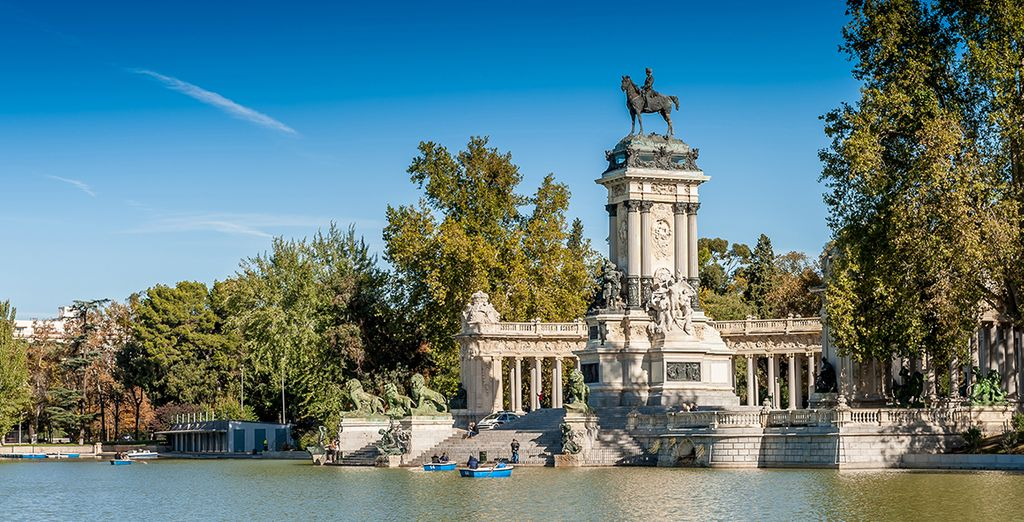 Then head out into the emblematic city of Madrid