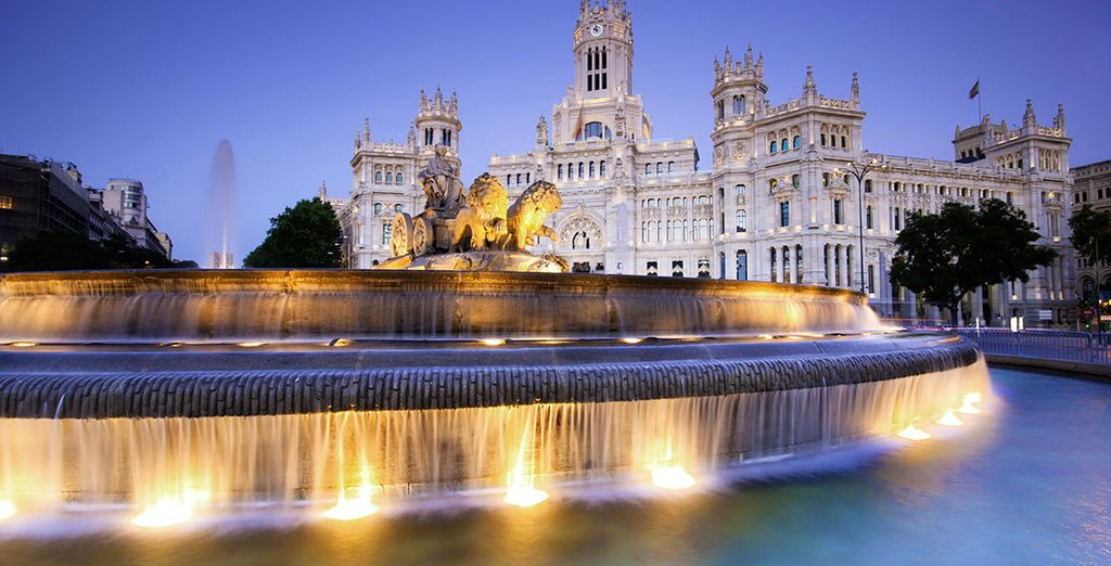 Madrid is an energetic which is city full of life