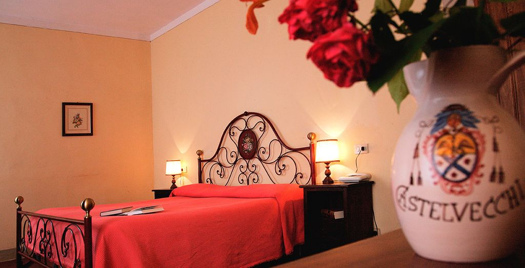 You will stay in a traditionally decorated Superior Room