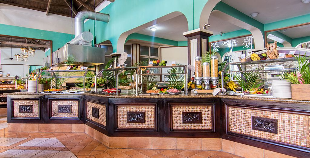 Choose from a range of cuisines
