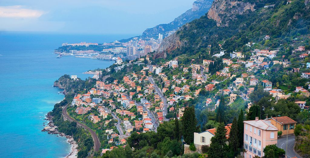 Welcome to the beautiful Cap Martin