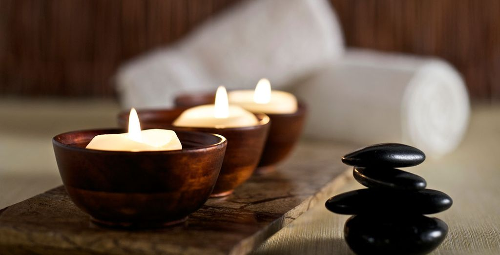 Have a massage in the neighbouring Rodos Maris Resort & Spa
